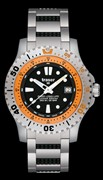 Часы Traser Diver Long-Life orange LTD Edition
